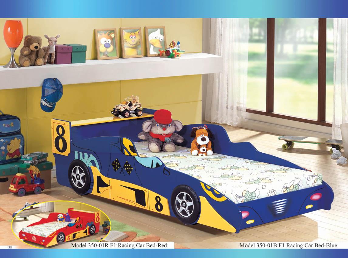 F1 Racing Car Bed