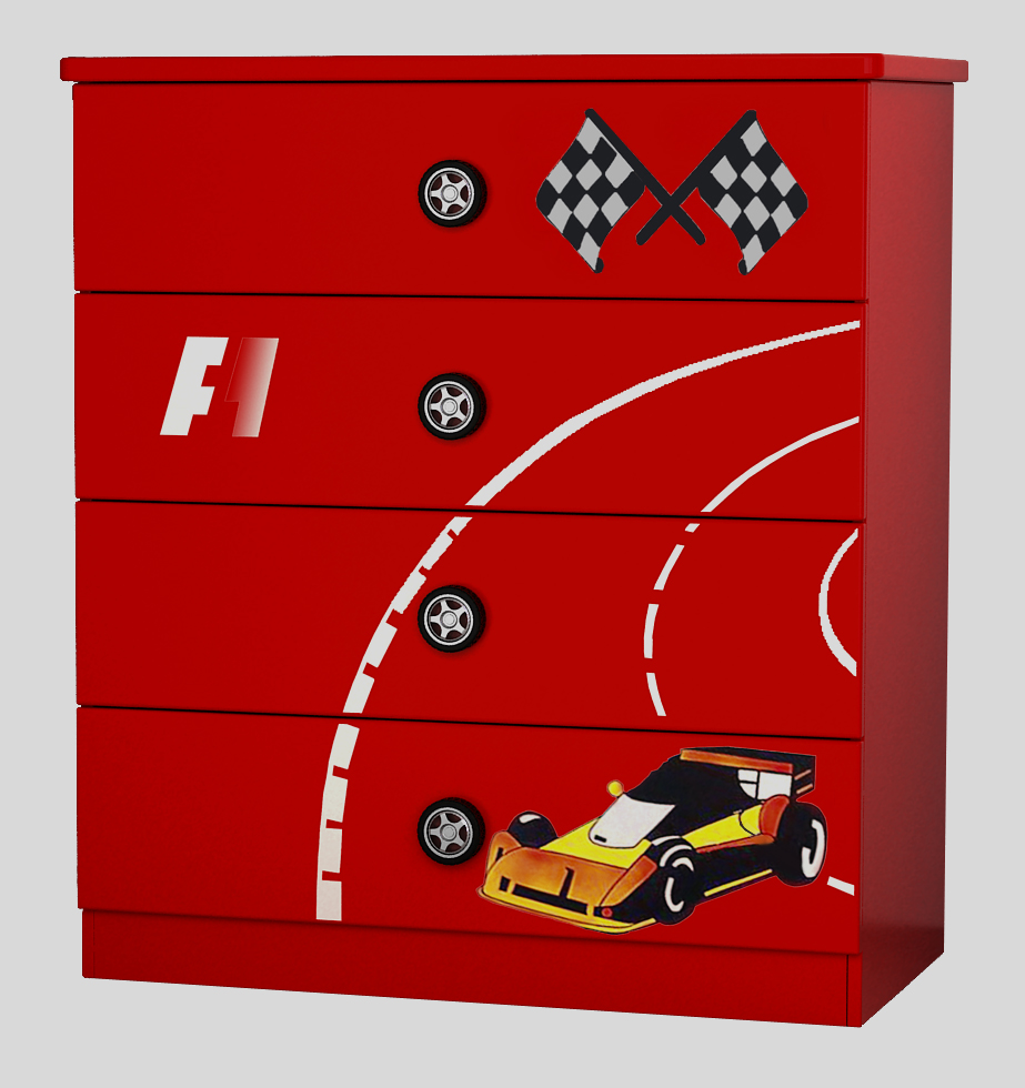 F1 Chest Of Drawer 4d