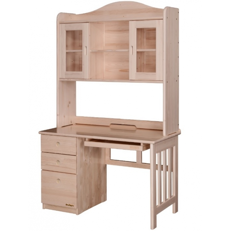 Kingdom desk w hutch 106031 for Furniture kingdom