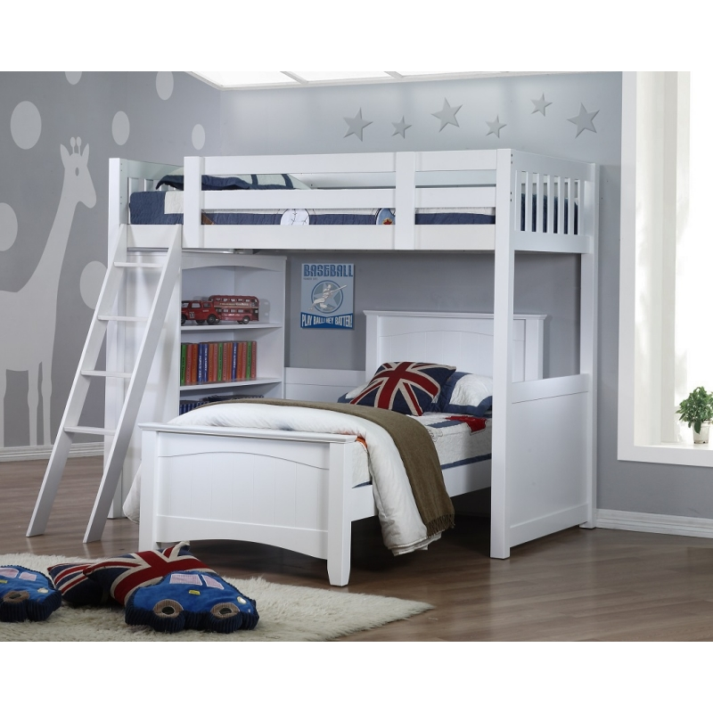 My Design Bunk Bed K Single W Bookcase Amp Andee Bed Single
