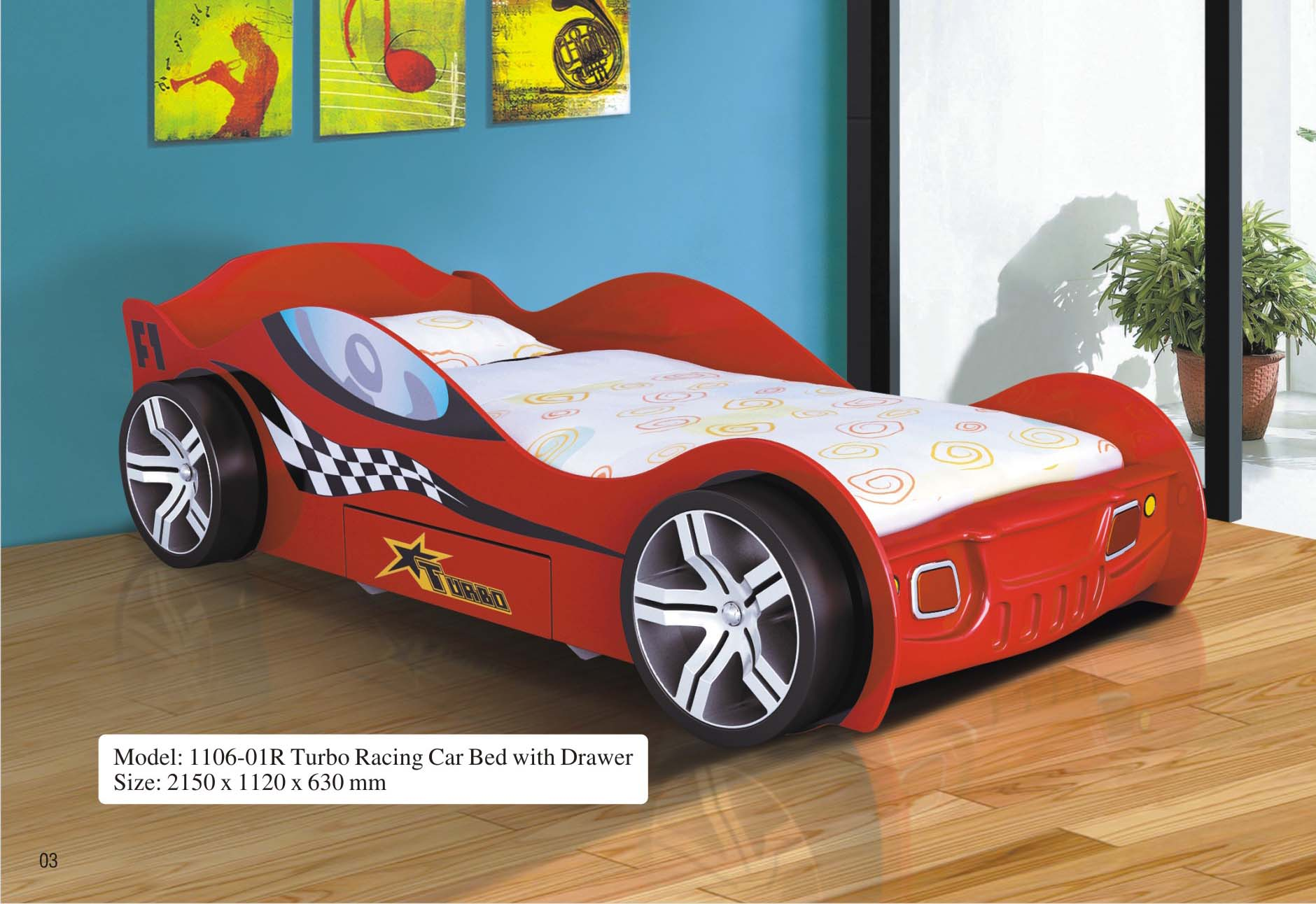 fs lights wheel rider white shop co home car with beds speedster and leds sounds race kids ventura bed product knight