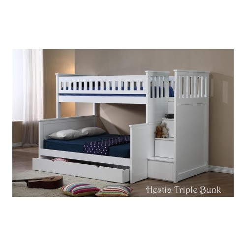 official photos b6dd5 614f0 Details about Hestia Bunk Bed Single Over Double #104024